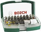 Bosch Set de 32 unidades para atornillar (accesorios para taladro atornillador)
