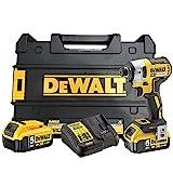 Dewalt DCF887P2-QW DCF887P2-QW-Atornillador Impacto sin escobillas XR 18V 1/4' 205Nm...
