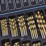 170 piezas broca de cobalto Set ( HSS-Co/INOX ) HSS METAL - diseñada para ACERO INOX