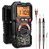 KAIWEETS HT118A Multimetro Digital Profesional, Polimetro Autorango con Valor Real...