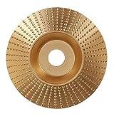 Cheng L Madera de Oro Muela Rotary Disco de Lija de Talla de Madera 100x16mm Disco...