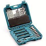Makita P-90358 - Juego de Accesorios Taladro eléctrico Pro (60 Piezas)