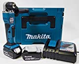 Makita DDA351RTJ taladro Negro, Azul 1800 RPM 1,8 kg - Taladro eléctrico (1800 RPM,...