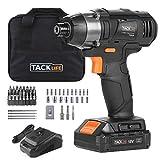 Atornillador de Impacto 18V, TACKLIFE 180 Nm Pistola de Impacto, 2.0Ah, 2800...
