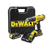 Dewalt DCD776C3-QW DCD776C3-QW-Taladro Percutor XR 18V 13mm 42Nm con 3 baterías...