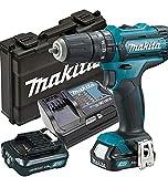 Makita hp331dsax3–Atornillador, 2x Batería/cargador en maletín de...