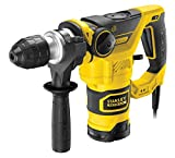 STANLEY FATMAX FME1250K-QS - Martillo percutor SDS Plus 1.250W, 3.5J, incluye...