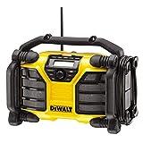 Dewalt DCR017-QW Radio para Obras DCR017, batería/Cable, con función de Carga, XR...