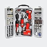 Set herramientas aire comprimido 71 piezas Llave impacto Martillo cincelador...