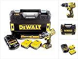 Dewalt DCD791P2-QW DCD791P2-QW-Taladro Atornillador sin escobillas XR 18V 13mm 70Nm...