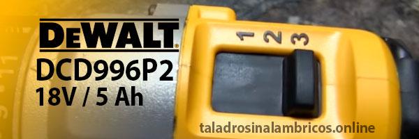partes de un taladro inalambrico dewalt dcd996