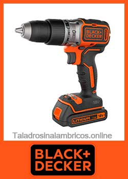 taladro inalambrico black+Decker