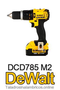 Taladro-Percutor-DeWalt-DCD785-M2