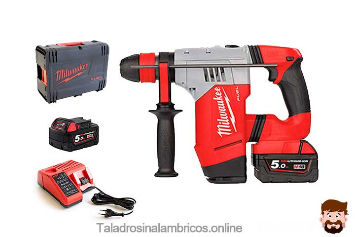 Milwaukee-M18-chpx-Martillo-electrico