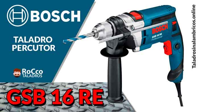 Bosch GSB 16 RE Professional | Taladro Percutor Electrico