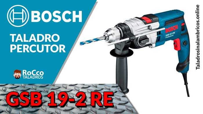 Taladro Percutor Bosch Professional GSB 19-2 RE