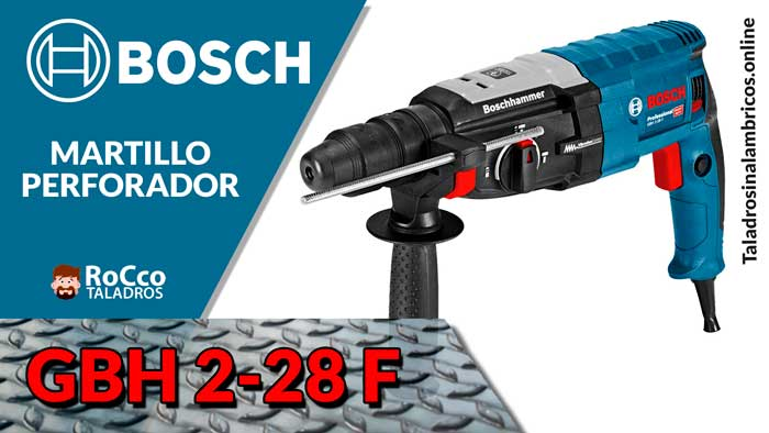 Bosch GBH 2-28 F – Martillo Perforad